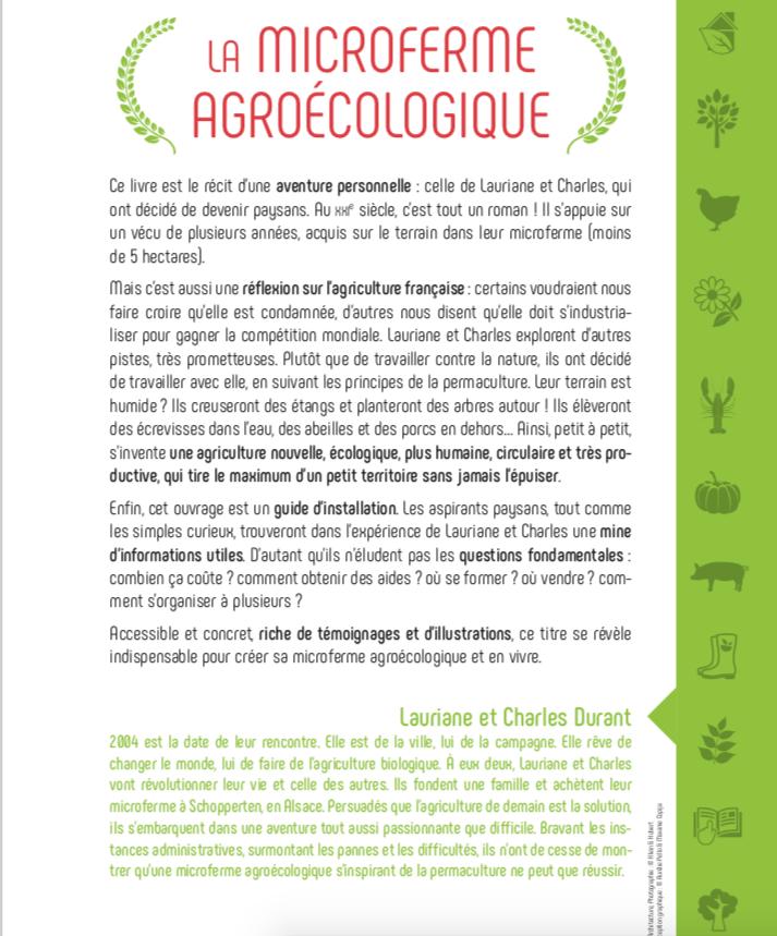 Formation microferme agroécologique permaculture La Ferme du Vieux poirier